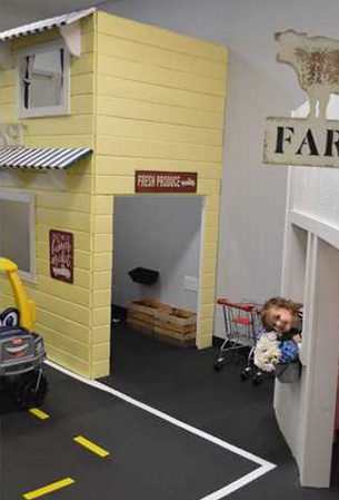Indoor play space opens for pint-sized clientele