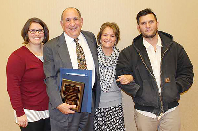 Simoncini takes home citizen of year honors