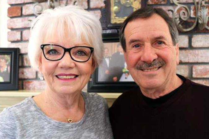 Sharon and Paul Caruso energized by community service