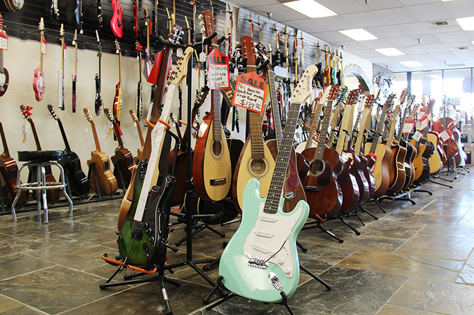 Dale's Guitar settling in at new location