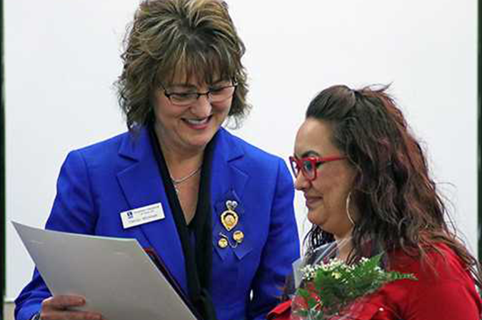 Women of distinction feted