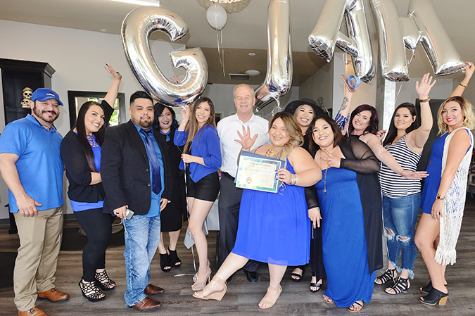 Glam Salon moves to new location