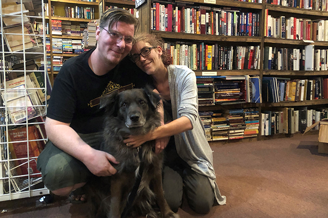 Bookworms turned bookstore owners