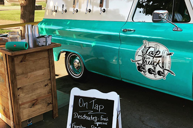 Tap Truck pours up the good times