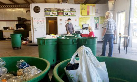 Go Green keeps recycling