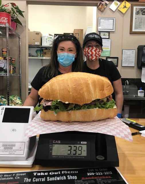 New Oakdale sandwich shop invites customers to a challenge