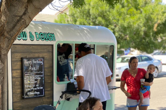 New mobile business offers two sweet treats