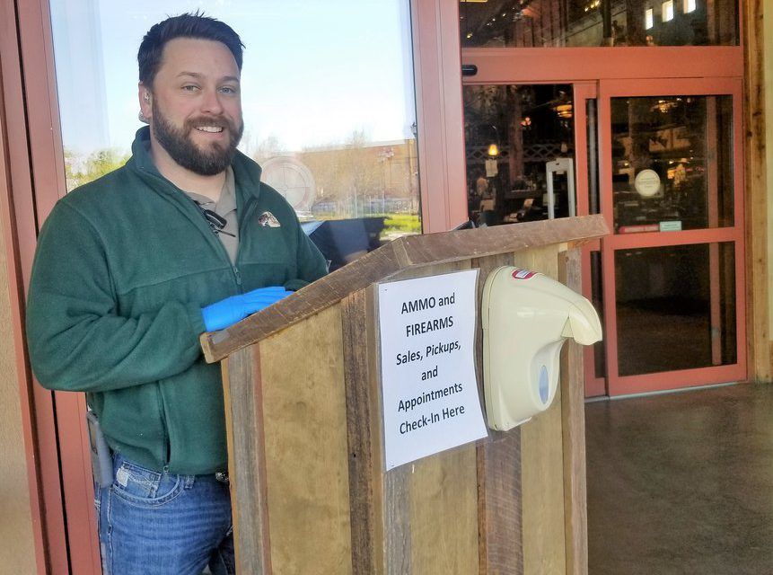 Bass Pro re-opens in Manteca:<br> <span style='font-weight:200; color:#a1a1a1; font-size:80%;'>Store limiting customers to 50 at a time</span>