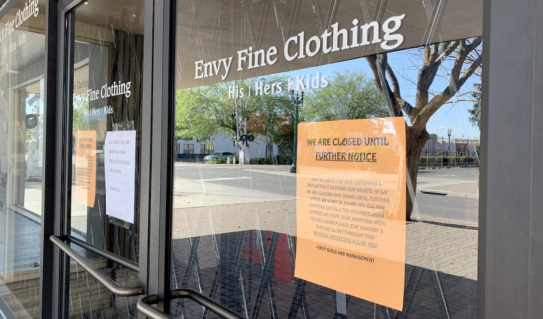 As businesses await federal help, County steps in