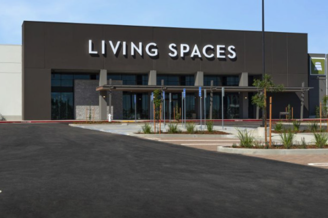 Living Spaces nears ground breaking:<br> <span style='font-weight:200; color:#a1a1a1; font-size:80%;'>116,641-square-foot showroom includes restaurant, up to 56 charging stations</span>