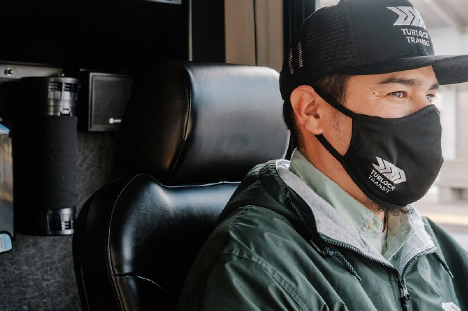 Turlock Transit first in state <br>to utilize air-cleaning tech for drivers