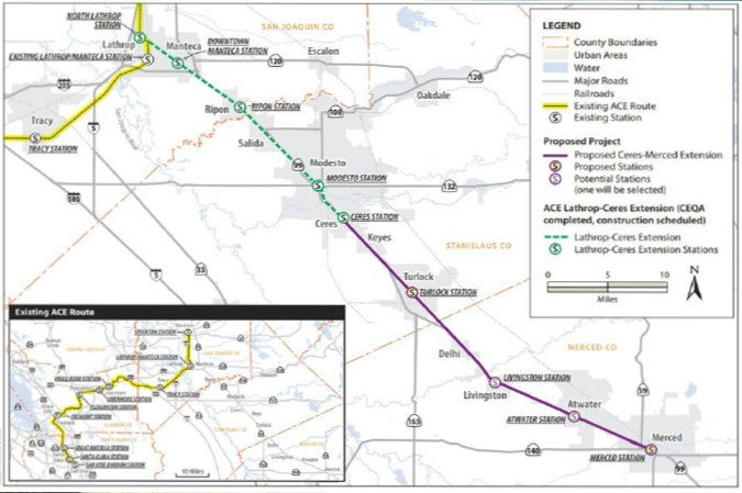 ACE will run Valley Link rail system