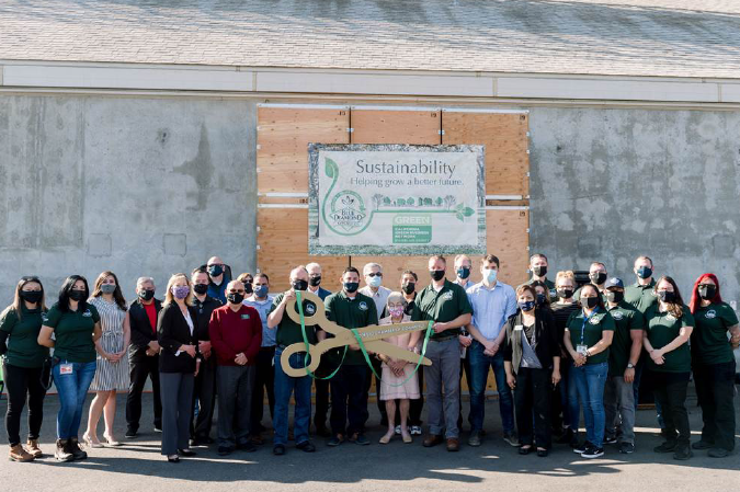 Blue Diamond first business in Stanislaus<BR>to earn 'green' certification