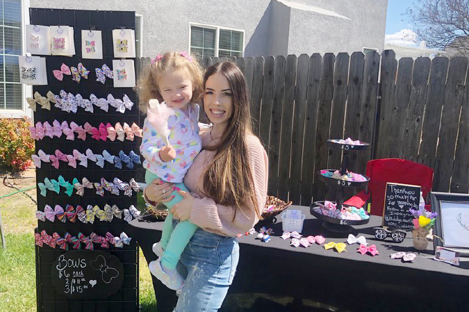 Bow business a booming success for Turlock mom