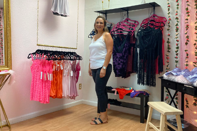New lingerie shop aims to help women feel confident